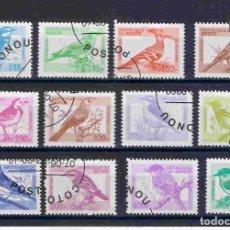 Sellos: AVES-PAJAROS DE BENIN. SELLOS DEL AÑO 2000. Lote 80395429