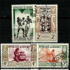 Sellos: LOTE DE SELLOS DE DAHOMEY. ACTUAL BENIN . Lote 87154164