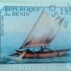 Sellos: BENIN 1999 - BARCO. Lote 90790875