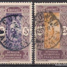Sellos: BENIN, DAHOMEY 1917 - USADO. Lote 100421203
