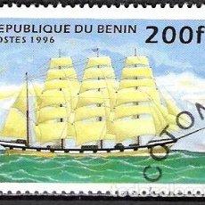 Sellos: BENIN 1996 - USADO. Lote 100421575