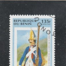 Sellos: REPUBLICA DE BENIN 1997 - MICHEL NRO. 905 - MATASELLO DE FAVOR. Lote 113031139