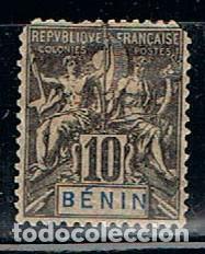 BENIN Nº 37, USADO (VER ESTADO) (Sellos - Extranjero - África - Benin)