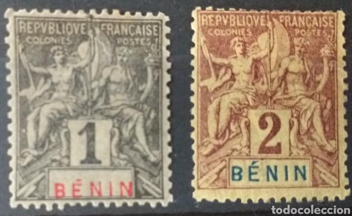 SELLOS DE BENIN NUEVOS DE 1894 (Sellos - Extranjero - África - Benin)