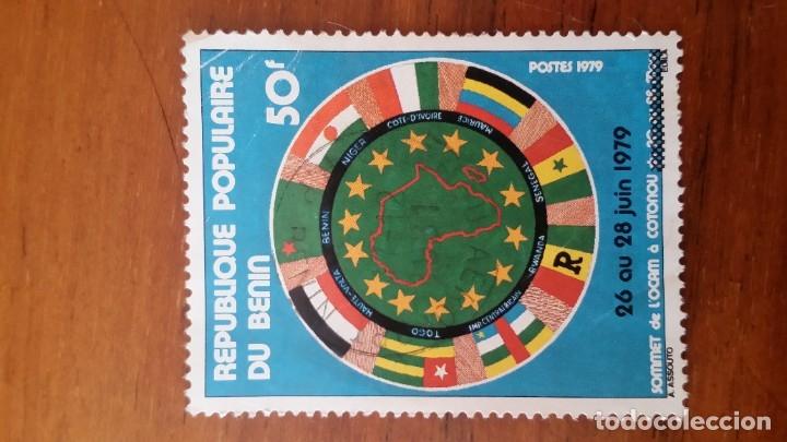 ANTIGUO SELLO REPUBLICA POPULAR DE BENIN 1979 (Sellos - Extranjero - África - Benin)