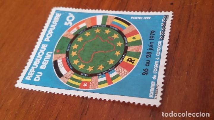 Sellos: ANTIGUO SELLO REPUBLICA POPULAR DE BENIN 1979 - Foto 2 - 177759398