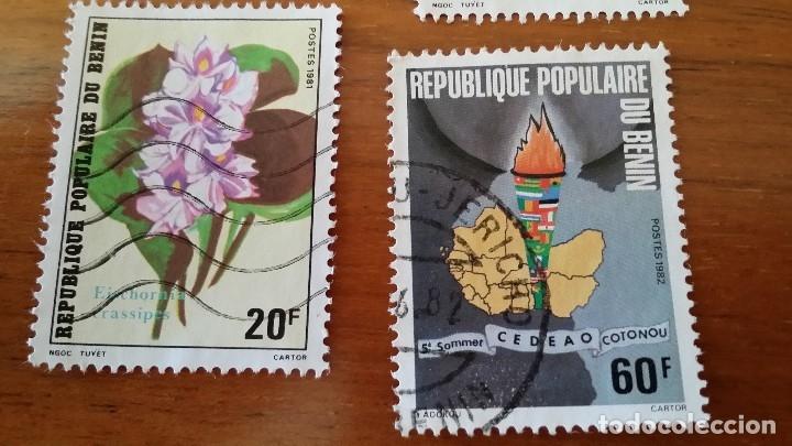Sellos: ANTIGUOS SELLOS REPUBLIQUE POPULAIRE DU BENIN Nº 49 - Foto 3 - 177888205