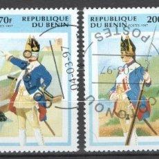 Sellos: BENIN, 1997. Lote 182016061