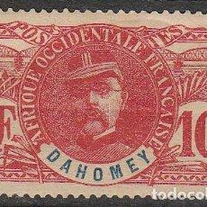Sellos: DAHOMEY (BENIN) Nº 22, LOUIS FAIDHERBE, FUNDADOR DEL IMPERIO COLONIAL FRANCÉS (AÑO 1906) NUEVO *. Lote 189482442