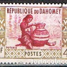 Sellos: DAHOMEY (BENIN) Nº 192, PROFESIONES: ALFARERA, USADO. Lote 190034316