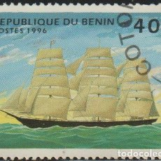 Sellos: BENIN 1996 SCOTT 850 SELLO * BARCOS SAILING SHIPS THERMOPYLES MICHEL 799 YVERT 710AH BENIM DAHOMEY. Lote 216729255