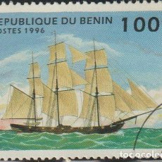 Sellos: BENIN 1996 SCOTT 853 SELLO * BARCOS SAILING SHIPS OPIUM CLIPPER MICHEL 802 YVERT 710AL BENIM DAHOMEY. Lote 216729452