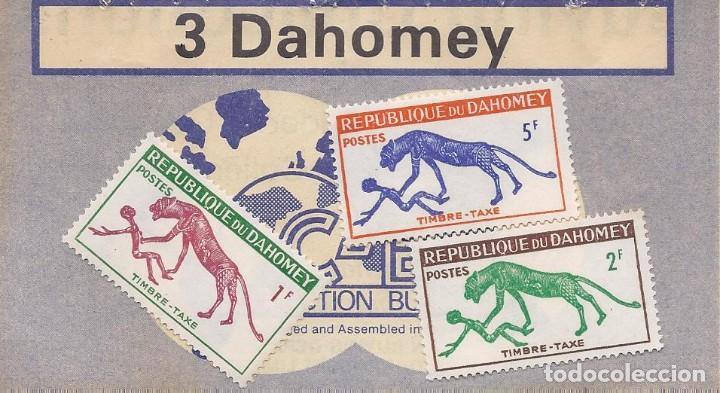 Sellos: DAHOMEY 1963 seie PANTERA Y HOMBRE .DAHOMEY (actual BENIN). - Foto 2 - 225246245