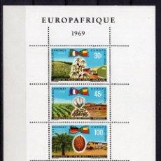 Sellos: DAHOMEY, 1969 , SOUVENIR-SHEET MICHEL BL16. Lote 236013830