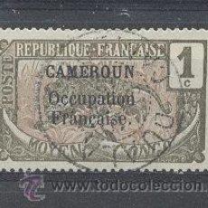 Sellos: CAMERUN,(R.F)OCUPATION FRANÇAISE,1916, YVERT TELLIER 67. Lote 21344308