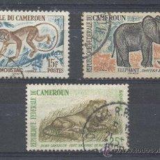 Sellos: CAMERUN, REPUBLICA FEDERAL, 1962-64, YVERT TELLIER 339,340, 348A. Lote 21341150