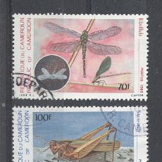 Sellos: CAMERUN, REPUBLICA DEL CAMERUN, 1986, YVERT TELLIER 782,784. Lote 21342401