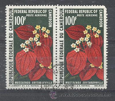 CAMERUN AEREO- REPUBLIQUE FEDERALE, 1970- YVERT TELLIER 156 (Sellos - Extranjero - África - Camerún)