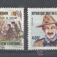 Sellos: CAMERUN - REPUBLIQUE UNIE, 1982- YVERT TELLIER 700 Y 701. Lote 21716740