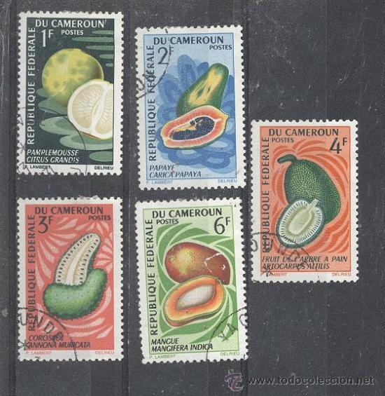CAMERUN - REPUBLIQUE FEDERAL, 1967- YVERT TELLIER 441-442-443-444-446 (Sellos - Extranjero - África - Camerún)