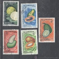 Sellos: CAMERUN - REPUBLIQUE FEDERAL, 1967- YVERT TELLIER 441-442-443-444-446. Lote 21717353