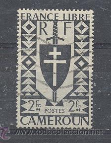 CAMERUN - 1941- YVERT TELLIER 257 (Sellos - Extranjero - África - Camerún)