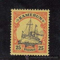 Francobolli: CAMERUN ALEMAN 11 SIN GOMA, BARCO. Lote 26005113