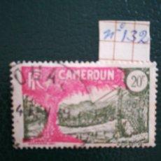 Sellos: CAMERÚN COLONIA FRANCESA YVERT 132. MÁS DE 15 € EN CATÁLOGO.. Lote 104769931