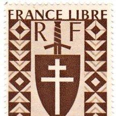 Sellos: 1941 - CAMERUN - CRUZ DE LORENA - YVERT 249. Lote 106701943