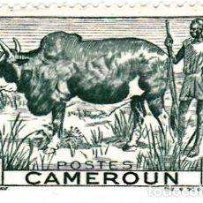 Sellos: 1946 - CAMERUN - BUEY - YVERT 276. Lote 106704783