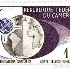 Sellos: 1963 - CAMERUN - TELECOMUNICACIONES ESPACIALES - YVERT 361. Lote 106705719