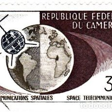 Sellos: 1963 - CAMERUN - TELECOMUNICACIONES ESPACIALES - YVERT 363. Lote 106705883