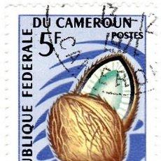 Sellos: 1967 - CAMERUN - FRUTA - NUEZ DE COCO - YVERT 445. Lote 106706443