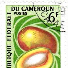 Sellos: 1967 - CAMERUN - FRUTA - MANGO - YVERT 446. Lote 106706567