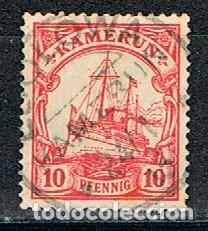 CAMERUN, COLONIA ALEMANA Nº 22 USADO (Sellos - Extranjero - África - Camerún)