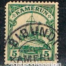 Sellos: CAMERUN, COLONIA ALEMANA Nº 21 USADO. Lote 203910937