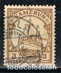 CAMERUN, COLONIA ALEMANA Nº 20 USADO (Sellos - Extranjero - África - Camerún)