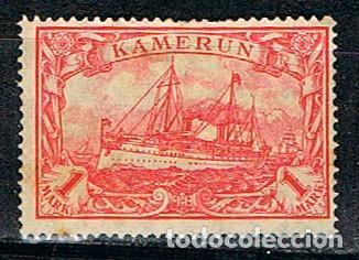 CAMERUN, COLONIA ALEMANA Nº 17 NUEVO CON CHARNELA (Sellos - Extranjero - África - Camerún)