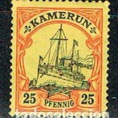 Sellos: CAMERUN, COLONIA ALEMANA Nº 11 NUEVO CON SEÑAL DE CHARNELA (AÑO 1906). Lote 110194127