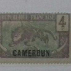 Sellos: SELLOS DE CAMERÚN 1921. Lote 126213920