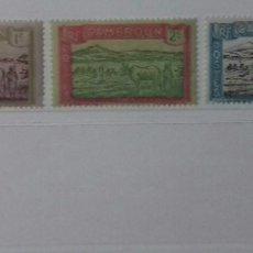 Sellos: SELLOS DE CAMERÚN 1925-1938. Lote 126214004