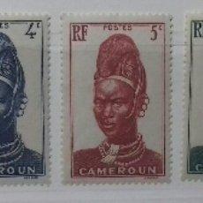 Sellos: SELLOS DE CAMERÚN 1939-1940. Lote 126214176