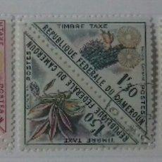 Sellos: SELLOS DE CAMERÚN FLORES 1963. Lote 126214658