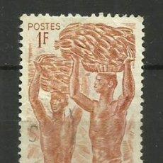 Sellos: FRANCIA COLONIAS- USADO- CAMEROUN 1946. Lote 135347450