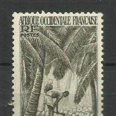 Francobolli: FRANCIA- AFRICA OCCIDENTAL FRANCESA- NUEVOS- 1947. Lote 137517622