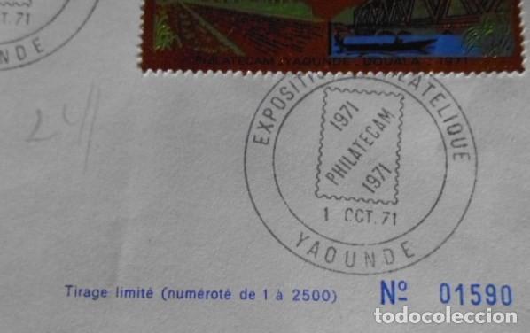 Sellos: SELLO CONMEMORATIVO DE CAMEROUN EN ORO SERIE LIMITADA Y NUMERADA - Foto 4 - 139200938