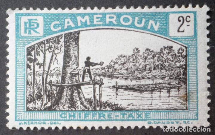 FRANQUEO 1925-1927 CAMERÚN LEÑADOR (Sellos - Extranjero - África - Camerún)