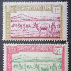 Sellos: 1925-1927 CAMERÚN GANADERÍA. Lote 146280042