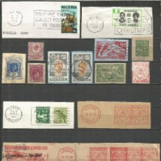 Selos: CAMERUN CONJUNTO DE SELLOS, ENTEROS RECORTADOS Y OTROS. Lote 160441894