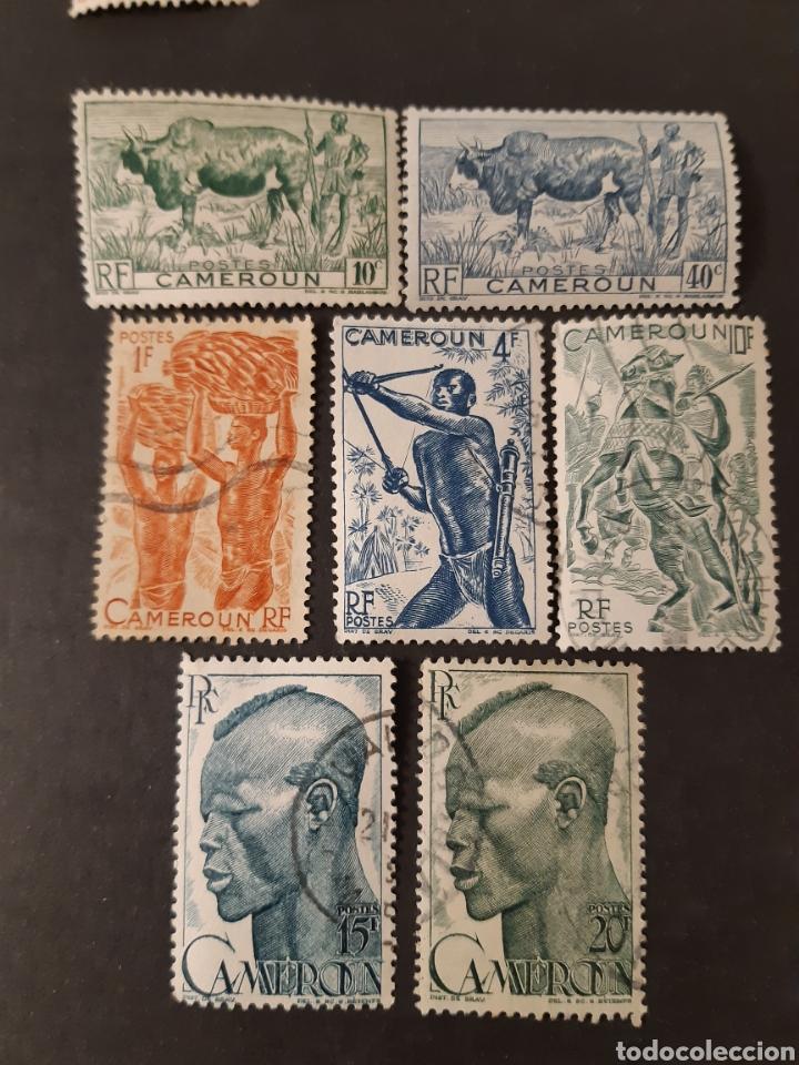 CAMERÚN, YVERT 276-294, 7 VALORES SUELTOS (Sellos - Extranjero - África - Camerún)